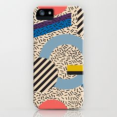 Memphis Inspired Pattern 3 iPhone & iPod Case by Season of Victory - $35.00 design