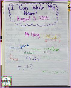 The Kindergarten Smorgasboard: Schedulin Sunday: The First Day Of Kindergarten!