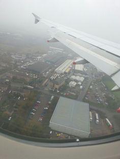 Aterrizando en Londres