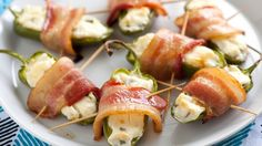 Serve this quick-prep appetizer at your next festive gathering, and watch guests go wild for the irresistible combination of spicy peppers, crispy bacon and velvety cream cheese.