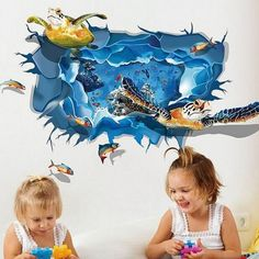 Shop beautiful wall stickers for kids and nursery at best prices. We offer colourful, high quality and custom versions of nursery wall decals online. Kids Room Wall Decals, Beautiful Wall, Wall Art Designs, Accent Pieces, Wall Stickers, Nursery Decor, Wallpaper, Creative, Color