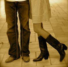 cowboy boots :)
