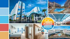 Here's everything you need to know about Universal Orlando's most affordable hotel, Universal's Endless Summer - Surfside Inn and Suites. Universal Orlando Hotels, Orlando Resorts, Orlando Vacation, Universal Studios, Orlando Theme Parks, Affordable Hotels, Adventures By Disney, Best Vacations, Beach Resorts