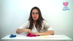 Como fazer uma linda flor com papel crepom - tutorial de decoração / DIY