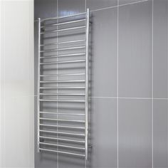 Burghley Stainless Steel Heated Towel Rail  1540 X 600