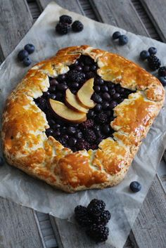 Gluten Free Spring Fruit Galette Recipe with Bob's Red Mill - The Frosted Petticoat @frostpetticoat