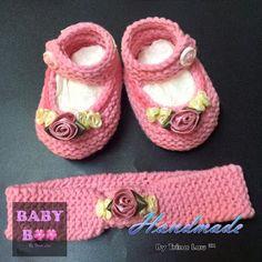 Handmade by Trina Lau: Knitted Mary Jane