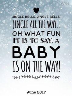 Kerst zwangerschaps aankondiging / Christmas pregnancy announcement