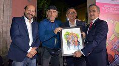 Rinde tributo CDMX a caricaturistas e ilustradores con plaza Los Supersabios