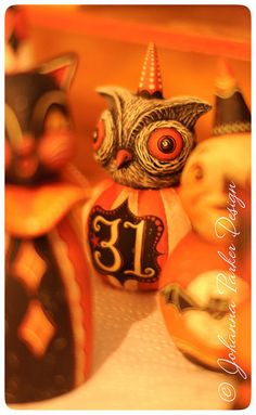 WIP-Owl-&-Friends by Johanna Parker Design, via Flickr