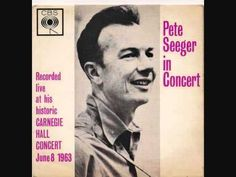 Pete Seeger In Concert EP - Carnegie Hall 1963