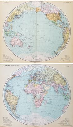 antique maps for sale printed 1926 displays geography in beautiful colors the text is in swedish and the sheet is 39 x 475 cm with a fold in t