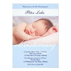 Shop Elegant Christening Baptsim Invitation for boys. created by PurplePaperInvites. Christening Invitations Boy, Holy Communion Invitations, Boy Christening, Boy Baptism, Zazzle Invitations, Invitation Cards, Invite, Holy Rosary Church, Religious Cross