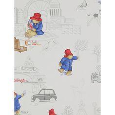 Buy Jane Churchill London Paddington Wallpaper Online at johnlewis.com
