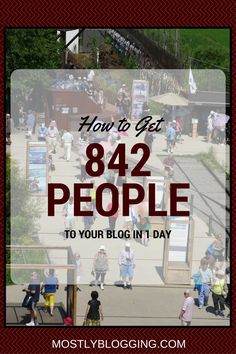 #TrafficGen #BlogTraffic #PageViews This Will Make You See 842 Page Views in 1 Day - http://www.mostlyblogging.com/get-842-page-views-to-your-blog/?utm_campaign=coschedule&utm_source=pinterest&utm_medium=Teresa%20Batey%20Allen%3A%20A%20Lifestyle%20Blogger