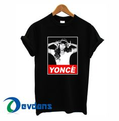 beyonce yonce obey style T-shirt men, women adult unisex size S to 3XL