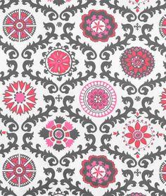 Premier Prints Rosa Flamingo Fabric - $16.98   onlinefabricstore.net