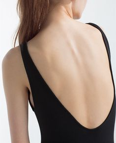 Image 6 of RIBBED BODYSUIT from Zara