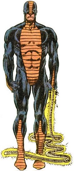 Constrictor (Marvel Comics) from the older handbook