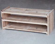 DIY Upcycled Pallet Shoe Rack | Pallet Furniture DIY