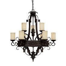 $1310. Entry View the Capital Lighting 3609-125 9 Light Chandelier  at LightingDirect.com.