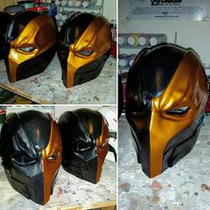Justicia Liga Deathstroke casco