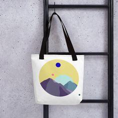 Strong, unique Tote bag -Circle Collection- No. 3