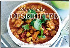 Slow Cooker Opskrifter
