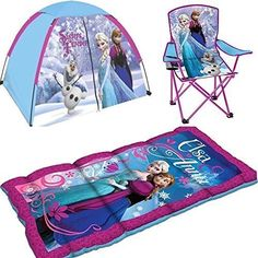 Disney Frozen Indoor/outdoor Sleeping Bag Tent Ttravel Backyard Adventure Set for sale online Little Girl Toys, Baby Girl Toys, Toys For Girls, Baby Dolls, Little Girls, Disney Princess Toys, Disney Toys, Frozen Disney, Minnie Mouse Toys