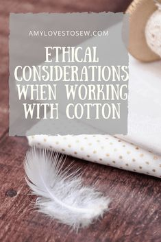 If you love to sew, its worth stopping to consider the impact that cotton can have on the environment, and in turn what you can do to make a difference. Click through to find out how sewers can help make the world a better place