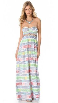 Summertime = a maxi dress