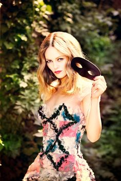 vanessa paradis 2013 1 Vanessa Paradis Poses for Ellen von Unwerth in Chanel for Madame Figaro