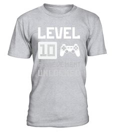 """# Level 10 Achievement Unlocked Gift Son 10th Birthday T-Shirt .  Special Offer, not available in shops      Comes in a variety of styles and colours      Buy yours now before it is too late!      Secured payment via Visa / Mastercard / Amex / PayPal      How to place an order            Choose the model from the drop-down menu      Click on """"Buy it now""""      Choose the size and the quantity      Add your delivery address and bank details      And that's it!      Tags: Super funny birthday…"""