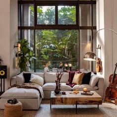 Home Living Room, Apartment Living, Living Room Designs, Living Room Decor, Living Spaces, Dog Spaces, Decorate Apartment, Living Room Seating, Kitchen Living
