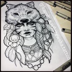 Zobacz na Instagramie zdjęcie użytkownika @karolina.wilczewska.tattoo • Polubienia: 592