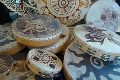 celtic drums at the faire by Lisa Crowe, via Flickr