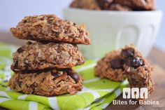 The ultimate vegan cookie! Made with wholesome ingredients, these chocolate chia oatmeal cookies are a decadent healthy treat for the family!