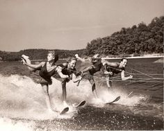 Lake of the Ozarks ski show; '50s - Next summer Steph & I need to do this!