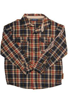 A boys shirt in checked fabric, with pockets and Naartjie Kids SA applique detail. Holiday 2014, Holiday Dresses, Boys Shirts, Kids Fashion, Applique, Girl Outfits, Dress Up, Range, Plaid