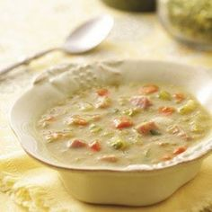 Split Pea and Ham Soup Recipe @keyingredient #soup #vegetables