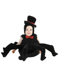 Surely you don't have arachnophobia if you're looking at our spider costumes! For classic Halloween chills and thrills, check out these tarantula costumes! Baby Spider Costume, Baby Halloween Costumes Newborn, Halloween Costumes For Teens Girls, Diy Halloween Costumes For Kids, Toddler Costumes, Animal Costumes For Kids, Pumpkin Halloween Costume, Infant Toddler, Spiders