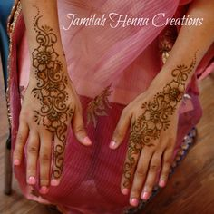 Jasmine Bridal back of hands
