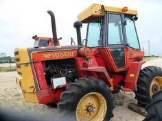 Versatile 160 tractor salvaged for used parts. This unit is available at All States Ag Parts in Bridgeport, NE. Call 877-530-5010 parts. Unit ID#: EQ-24557. The photo depicts the equipment in the condition it arrived at our salvage yard. Parts shown may or may not still be available. http://www.TractorPartsASAP.com