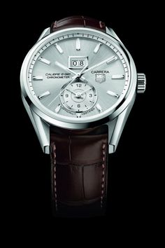 tag heuer tagheuerusa s ideas the tag heuer carrera calibre 8 grande date gmt resembles an earlier tag heuer watch the grand carrera calibre 8 rs which contained the same base movement