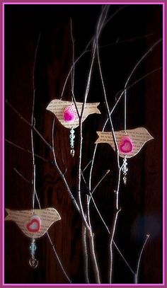 valentine birds.