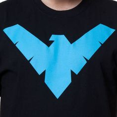 Nightwing Shirt  Super Heroes DC Comics Justice League Batman T-shirt  Batman T Shirt b7c6e7dc3