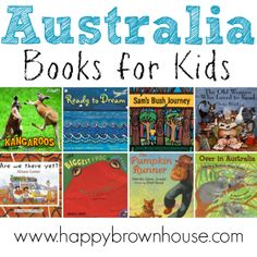 This book list of Australia Books for Kids is a perfect list for an Australia unit study. Perfect for reading about the Australian outback, kangaroos, and koalas, too! Australia For Kids, Books Australia, Australia Country, Fiction Books For Kids, Historical Fiction Books, Preschool Books, Preschool Classroom, Preschool Ideas, Passports For Kids