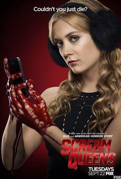 Fox Scream Queens cast Billie Lourd as Chanel 3 #billie #lourd #billielourd #screamqueens #scream #queens #queen #fox