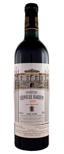 Château Leoville Barton, Saint Julien; one of 14 Deuxieme Grand Crus Classes (Second Growths); Bordeaux
