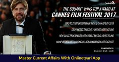 #Cannes2017: Ruben Östlund wins Palme d'Or for 'The Square'. For more #latestnews click here: https://onlinetyari.com/latest-news-articles/morning-news-digest-30-may-2017-i44904.html?utm_content=bufferec3ea&utm_medium=social&utm_source=pinterest.com&utm_campaign=buffer #onlinetyari